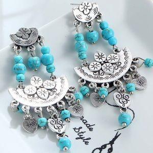 Jewelry - Beaded Boho Earrings